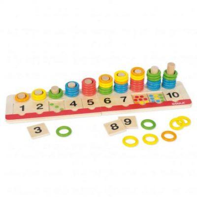 juego anillas de colores