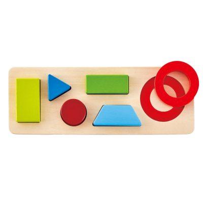 Puzzle formas hape