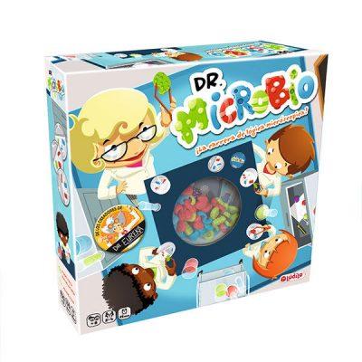Dr microbio juego logica