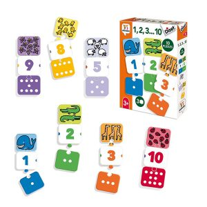 puzzle numeros 1-10 diset