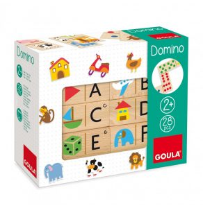 dominó abecedario goula