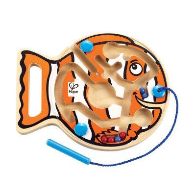 Laberinto magnético pez hape