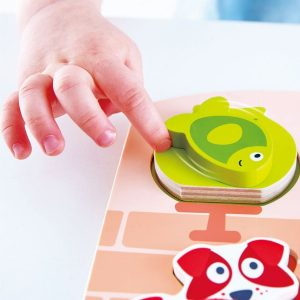 puzzle mascotas dinamico Hape