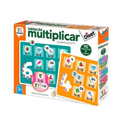 tablas multiplicar diset
