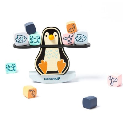 juego equilibrio pinguino everearth